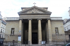 Église Saint-Denis-du-Saint-Sacrement - Español: París, Saint Denis du Saint-Sacrement. Fachada.