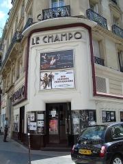 Cinéma Le Champollion - English: Le Champo movie theater in Paris at rue des Écoles in the 5e arrondissement