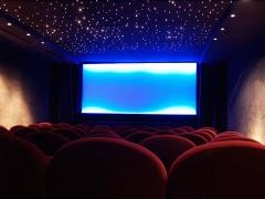 Cinéma Le Champollion - English: Paris arthouse cinema interior somewhere in the Quartier Latin, possibly Le Champo, July 2006.