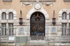 Institut océanographique -  Institut Océanographique, Rue Saint-Jacques, Paris.