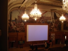 Institut océanographique -  Institut océanographique of Paris. The main lecture theater.