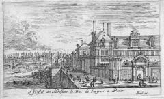 Ancien hôtel Séguier, devenu hôtel d'O, puis hôtel de Luynes - English: Hôtel of the Duke of Luynes in Paris