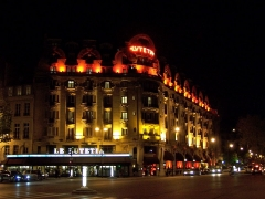 Hôtel Lutétia - English: Le Lutetia Hôtel and bar, in Paris