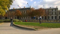Palais de l'Alma -  Chaillot, Paris, France