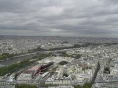 Palais de l'Alma -  View from the Eiffel Tower.