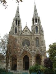 Basilique Sainte-Clotilde et Sainte-Valère -  Église Sainte-Clotilde (Paris)