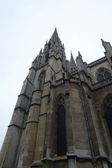 Basilique Sainte-Clotilde et Sainte-Valère - English: The Basilica of Saint Clotilde, a basilica church in Paris, located on the Rue Las Cases, in the area of Saint-Germain-des-Prés. It is best known for its imposing twin spires.