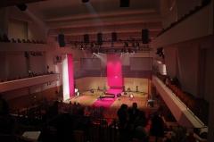 Salle de concerts dite Salle Pleyel - English: Salle Pleyel in Paris after Chopin's Anniversary concert.