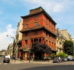 Immeuble dit La Pagode Rouge ou galerie CTLoo & Cie -