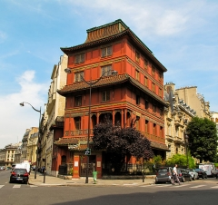 "Immeuble dit ""La Pagode Rouge"" ou galerie CTLoo & Cie -  Chinese style townhouse"
