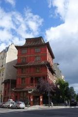 "Immeuble dit ""La Pagode Rouge"" ou galerie CTLoo & Cie -  Pagoda @ Paris"