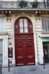 Immeuble - Deutsch:   Haus 53 rue du Faubourg-Poissonnière in Paris (9. Arrondissement)