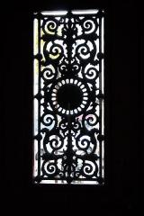 Immeuble - Deutsch: Haus 7 place Franz-Liszt in Paris (10. Arrondissement), Tür
