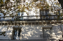 Immeuble - Deutsch: Haus 7 place Franz-Liszt in Paris (10. Arrondissement)
