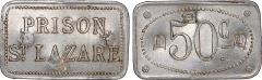 Ancienne prison Saint-Lazare, devenue hôpital Saint-Lazare - English: Monnaie interne à l'ancienne prison saint Lazarre