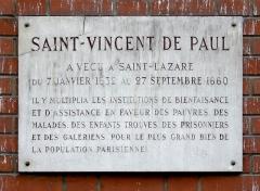 Ancienne prison Saint-Lazare, devenue hôpital Saint-Lazare - Deutsch: ehemaliges Gefängnis Saint-Lazare in Paris