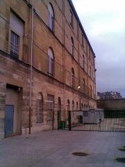 Ancienne prison Saint-Lazare, devenue hôpital Saint-Lazare - Français:   Site de l\'ancien hôpital Saint-Lazare (Paris 10e) en restructuration, le carré historique