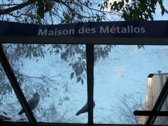 """Ancienne fabrique d'instruments de musique """" Gautrot-Couesnon """", actuellement immeuble de l'Union Fraternelle des Métallurgistes -  Paris quartier Oberkampf 11ème"""