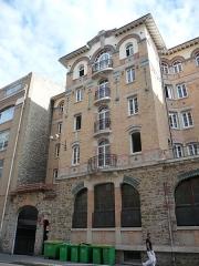 Palais de la Femme - English:   Palais de la Femme, 84 rue de Charonne; Paris 11. France. View of the rue de Charonne side.