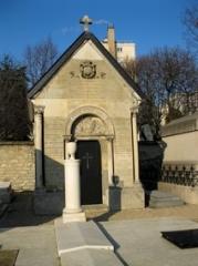 Cimetière de Picpus et ancien couvent des chanoinesses de Picpus -  Tombes du cimetière de Picpus
