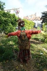 Square René Le Gall -  Scarecrow @ Square René-Le Gall @ Paris