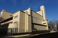Cité internationale universitaire : pavillon ou collège néerlandais (fondation Juliana) -  Collège Néerlandais @ Cité internationale universitaire @ Paris   Cité internationale universitaire, Paris, France.