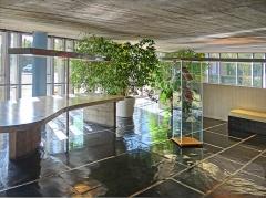 Cité internationale Universitaire : pavillon du Brésil ou pavillon brésilien ou maison du Brésil - Français:   La maison du Brésil, Cité internationale universitaire de Paris.