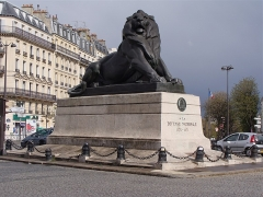 Monument du Lion de Belfort - English: The