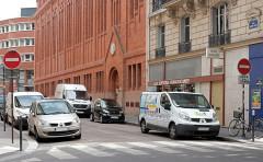 Couvent de franciscains dit Saint-François - Français:   Rue Marie-Rose - Paris XIV