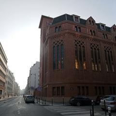 Couvent de franciscains dit Saint-François -  Rue Marie-Rose & Rue du Père-Corentin, Paris.