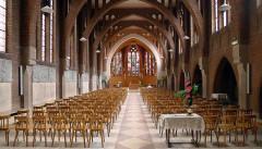 Couvent de franciscains dit Saint-François - Français:   Chapelle des Franciscains (nef) - Paris XIV