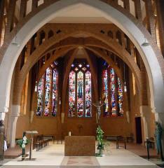 Couvent de franciscains dit Saint-François - Français:   Chapelle des Franciscains (choeur) - Paris XIV