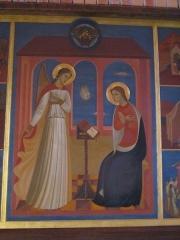Couvent de franciscains dit Saint-François - Français:   Annonciation de la BV Marie, chapelle du couvent des Franciscains de Paris.