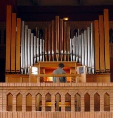 Couvent de franciscains dit Saint-François - Français:   Chapelle des Franciscains (orgue de tribune) - Paris XIV