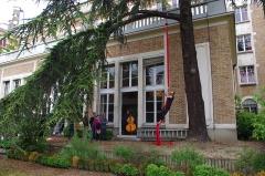 Cité internationale universitaire : Fondation des Etats-Unis - Français:   Événement musical et artistique interactif Synesthetic Explosion. Fête de la Cité 2013.