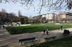 Square Saint-Lambert -  Square Saint-Lambert @ Paris 15