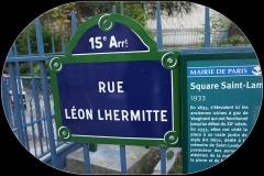 Square Saint-Lambert - Français:   entrée du square