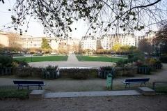 Square Saint-Lambert - Français:   en haut du square