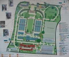 Jardin fleuriste municipal -  Map of Serres d'Auteuil  Map: 48° 50' 49