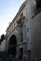 Ancien hôtel particulier de Roland Bonaparte - Français:   10 rue Fresnel (Paris, 16e), arrière de l\'hôtel Shangri-La.