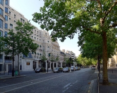 Ancien hôtel particulier de Roland Bonaparte - English: Iéna avenue - Paris