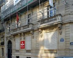 Immeuble, ancien hôtel particulier, actuelle bibliothèque de l'Institut Cervantès - Français:   Instituto Cervantes de Paris.