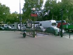 Place de la porte de Saint-Cloud -  - Taken at 5:20 PM on September 09, 2007 - cameraphone upload by ShoZu