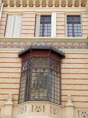 Ancien hôtel particulier, actuellement lycée professionnel de haute couture et d'esthétique - Français:   Paris 17ème arrondissement - Immeuble 9 rue Fortuny