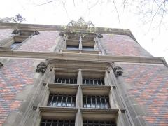 Ancien hôtel Gaillard, actuellement succursale de la Banque de France -  Paris 2012