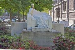 Ancien hôtel Gaillard, actuellement succursale de la Banque de France - French sculptor