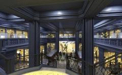 Ancien hôtel Gaillard, actuellement succursale de la Banque de France -  Salle des coffres - Vault Image du concours architectural et muséographique, 2011.