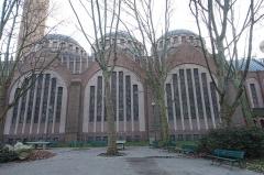 Eglise Sainte-Odile -  Eglise Sainte-Odile @ Square Sainte-Odile @ Paris 17   Église Sainte-Odile, 2 Avenue Stéphane Mallarmé, 75017 Paris, France.
