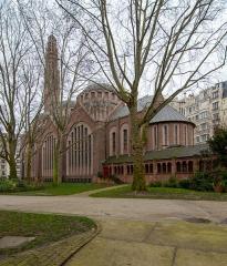 Eglise Sainte-Odile -  Église Sainte-Odile, Paris, France.