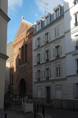 Eglise Saint-Michel dite des Batignolles - Deutsch: Katholische Pfarrkirche Saint-Michel des Batignolles im 17. Arrondissement in Paris (Île-de-France/Frankreich)